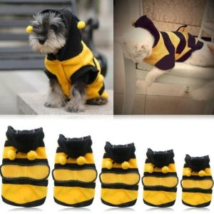 Bee Pet Fancy Costume Fleece