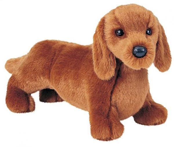 Cuddly Dachshund Plush Toy