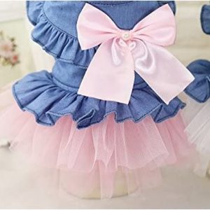 Dog Lace Princess Dress