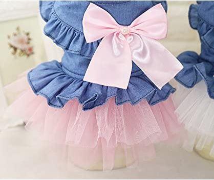Dog Lace Princess Dress
