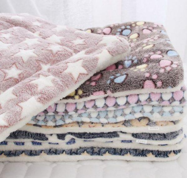 Fleece Pet Cushion Bed-Mat