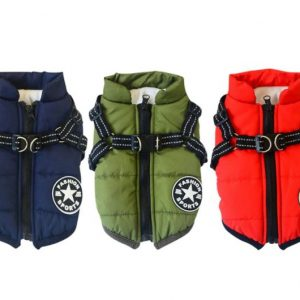 Dog Warm Harness Jacket