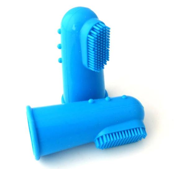 Natural Silicone Pet Finger Toothbrush