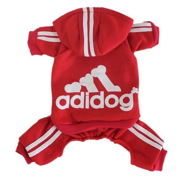 Adidog Pet Tracksuit Sportswear Hoodie