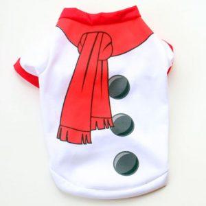 Christmas Dog Cotton Vest Shirt