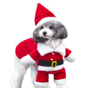 Funny Santa Claus Costume For Pets