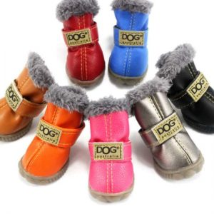 Winter Waterproof Dog Boots