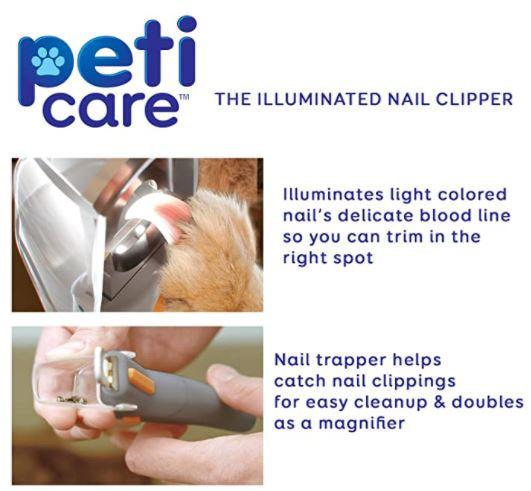 Professional LED Pet Nail Clipper