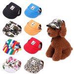 Pet Baseball Hat with Ear Holes