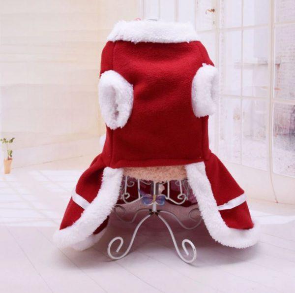 Christmas Pet Soft Princess Dress
