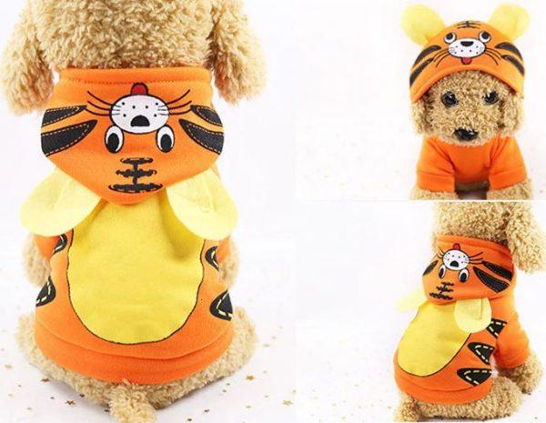 Cartoon Halloween Dog Costume