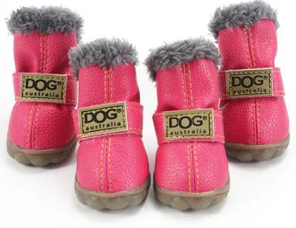 Winter Waterproof Dog Boots