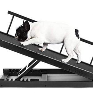 Best Adjustable Height Pet Ramp for Bed