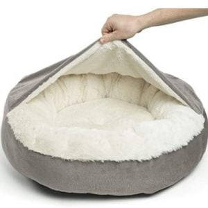 Cozy Orthopedic Dachshund Dog Bed