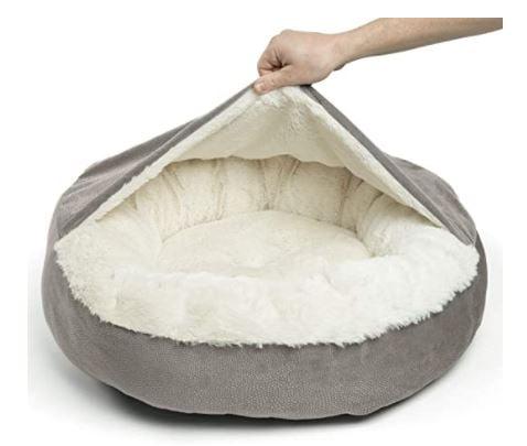 Cozy Orthopedic Dachshund Dog Bed