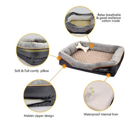 Orthopedic Dog Bed Memory Foam
