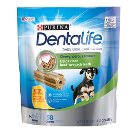 Chew Treats Oral Care Purina DentaLife