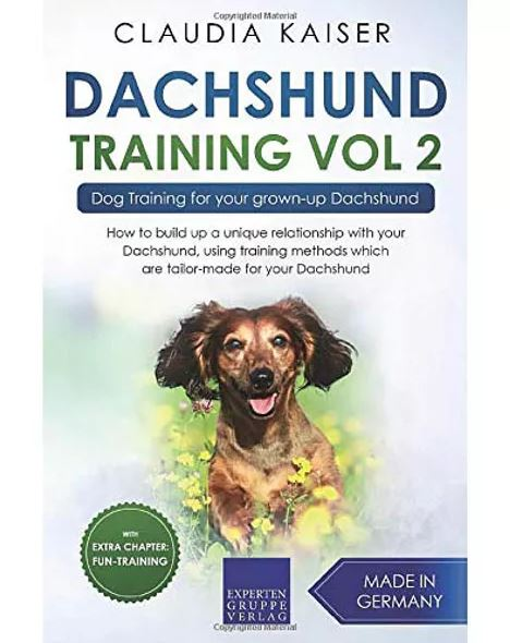 Dachshund Training Vol 2 – Dog Training for Your Grown-up Dachshund